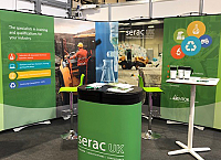 Serac UK stand at RWM 2018
