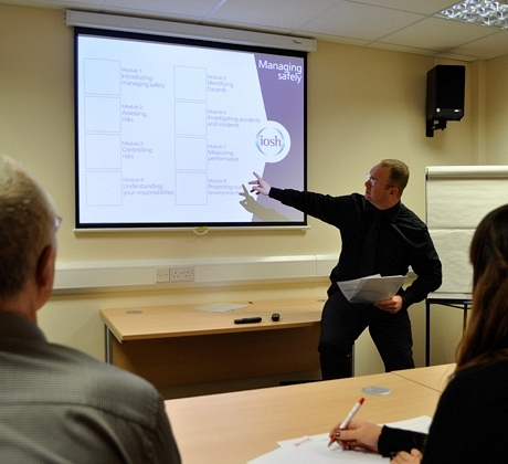 Technical manager present IOSH Courses
